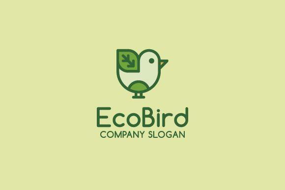 Eco Bird Logo by Logo Cosmos on Creative Market
