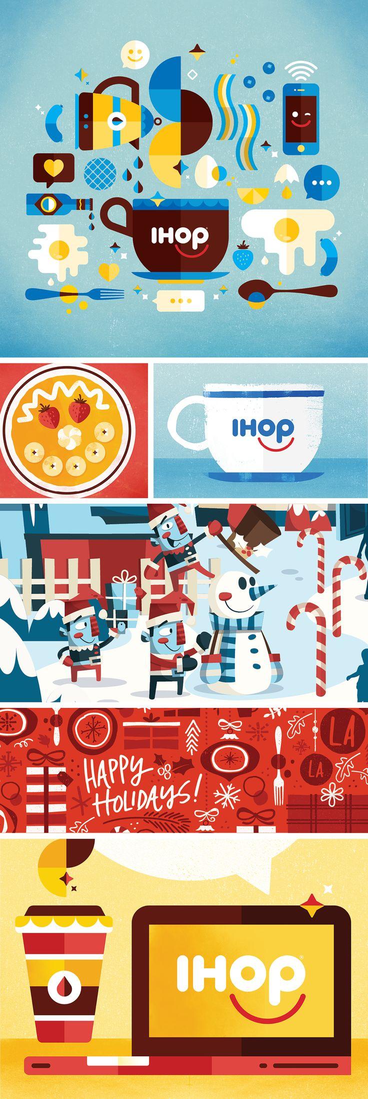 IHOP Brand Illustration on Behance