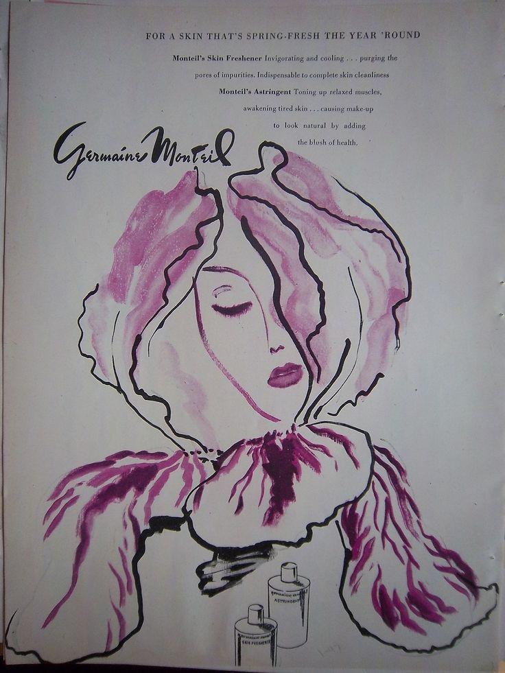1947 Vintage Germaine Monteil Skin Freshener Astringent
