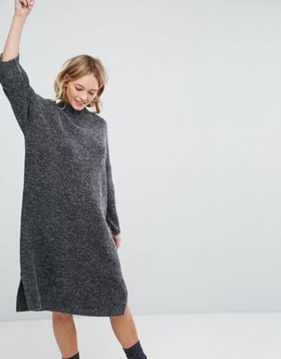 1d2a7ce8aef Monki Knitted Midi Dress