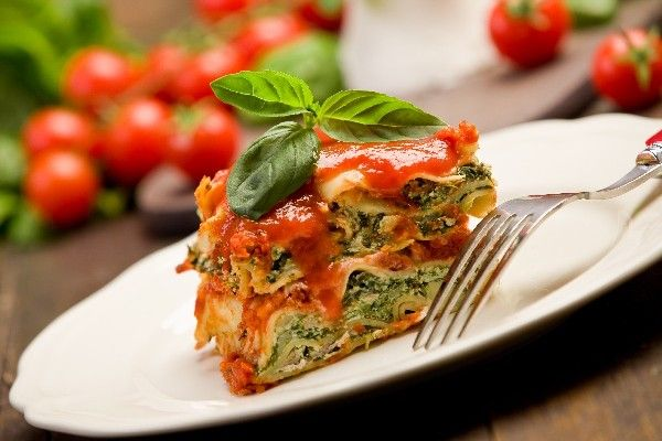 Extra-Easy Spinach Lasagna #Recipe | Favorite Recipes | Pinterest