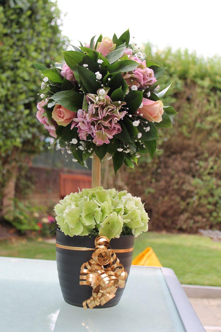 Best hydrangea topiaries images on pinterest