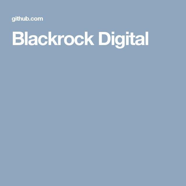 Blackrock Digital