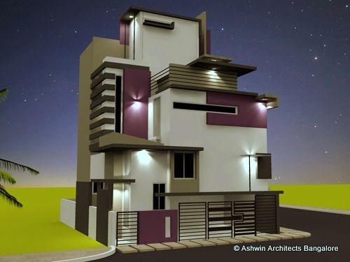 7 best front elevation models images on pinterest house for House front elevation models