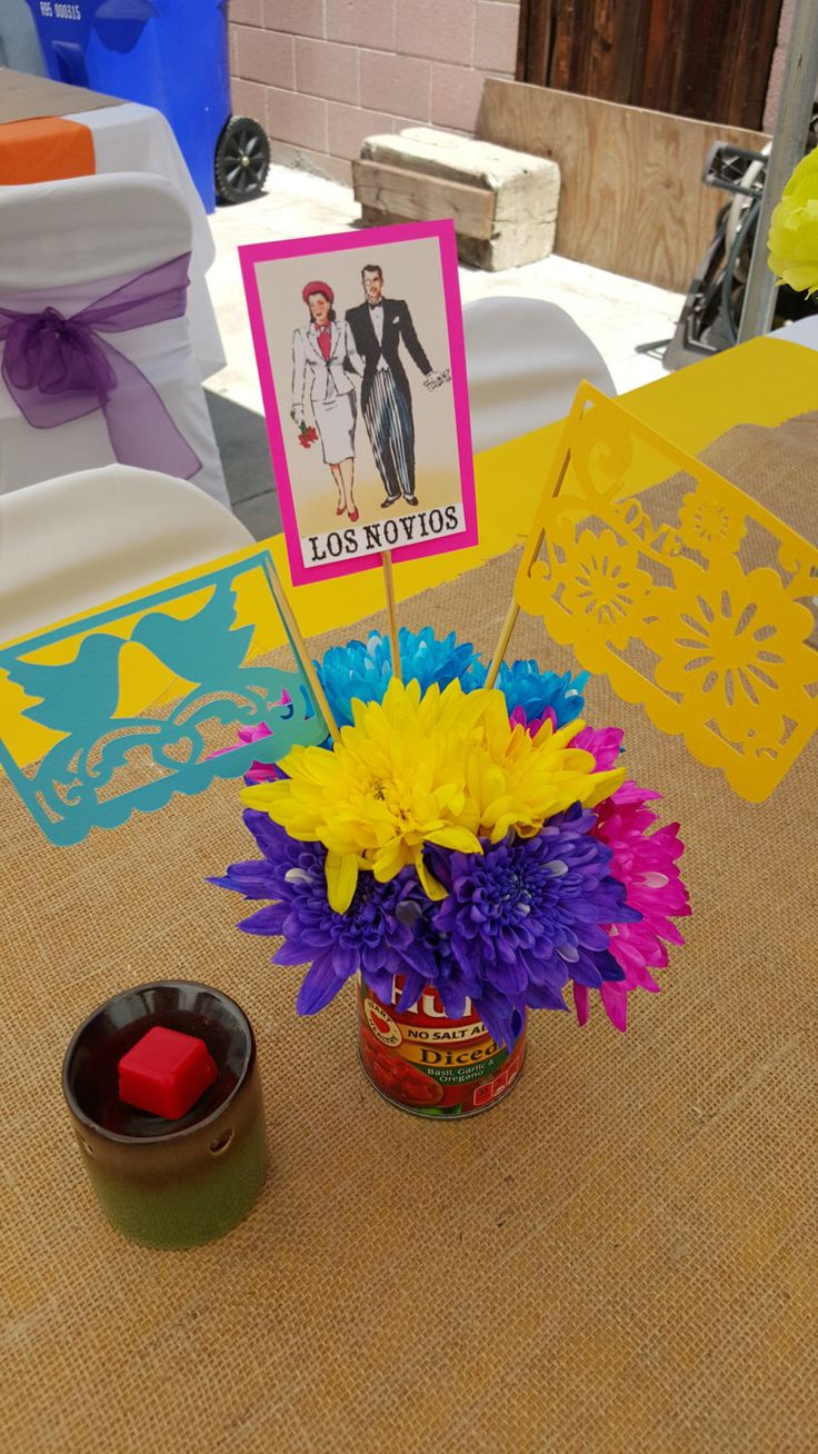 Mexican Fiesta Centerpiece Props by ByNorms33 on Etsy https://www.etsy.com/listing/254998909/mexican-fiesta-centerpiece-props
