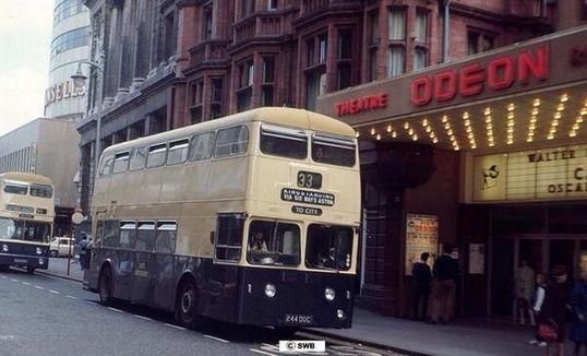 New Street, Birmingham. Early 1960s.