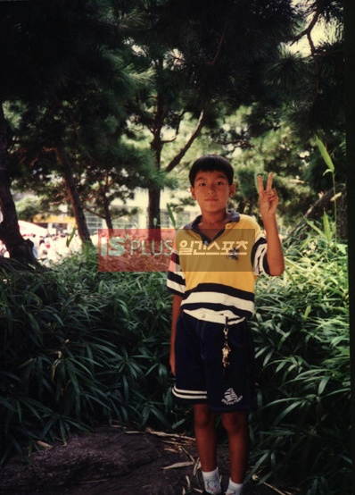 Lee Min Ho as a young boy
