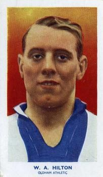 1939 R & J Hill Famous Footballers Series 2 #67 Billy Hilton Front