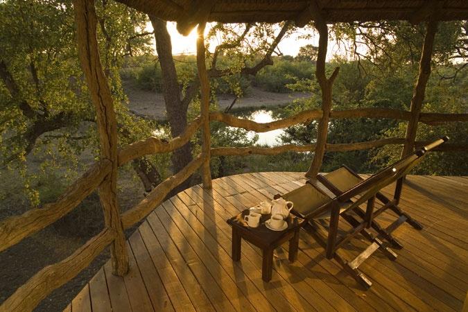 one of my favorite spots to sit- Main Camp Mashatu, Botswana