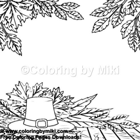 Autumn Thanksgiving Coloring Page 1270 Ultimate Coloring Pages