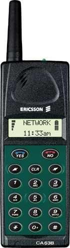 Ericsson CA638. Móvil GSM 1900 con procesador Z80