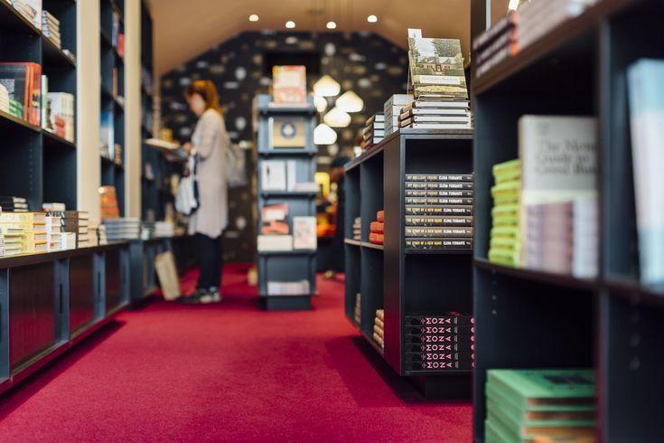 Avoca St Bookstore designed by ZWEI Interiors Architecture