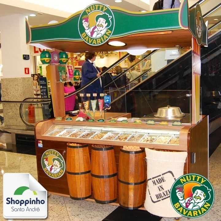 Não espere mais! Corra agora para saborear as delícias da Nutty Bavarian!   #Delicia #Love #NuttyBavarian #ShoppinhoSantoAndré