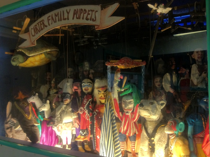Carter Family Puppets at the Northwest Puppet Center