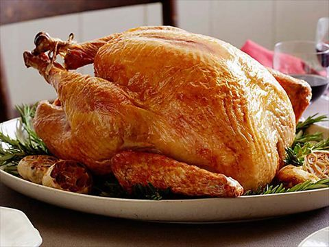 Thanksgiving Video Collection.  Alton shows his not-so-traditional method of roasting a traditional turkey.  Turkey Recipe @ http://www.foodnetwork.com/recipes/alton-brown/traditional-roast-turkey-recipe.html