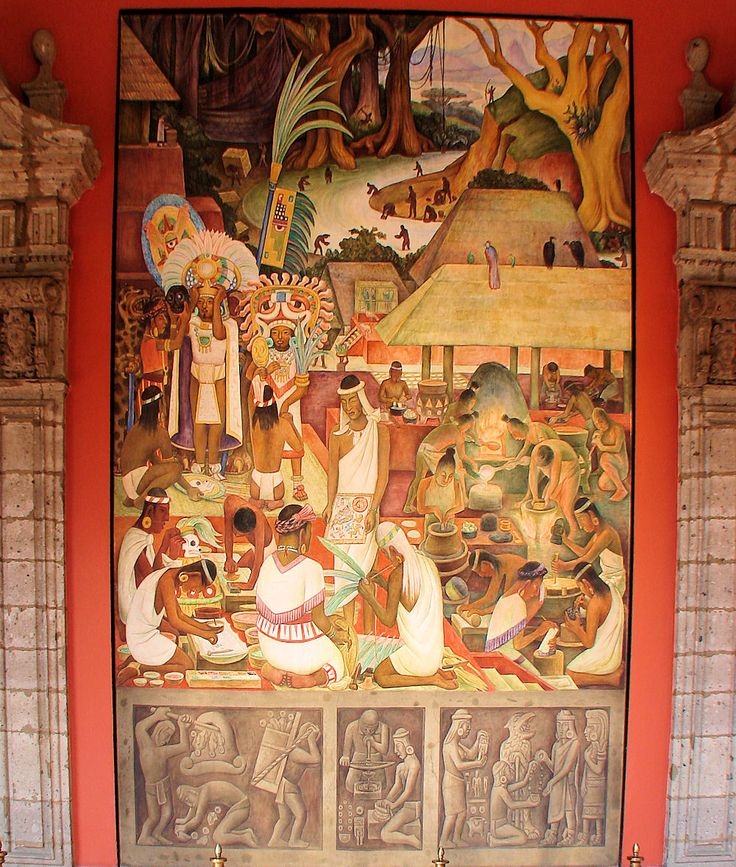 Mural by diego rivera 39 the zapotec and mixtec for Diego rivera mural 1929