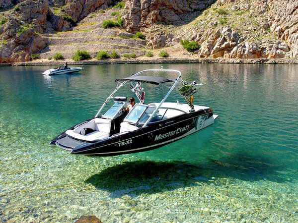 Need to go there. #boating #mastercraft #wakeboard... Looks like it's floating in air! Awesome!