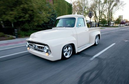 Numerous people tried to buy this 1953 Ford F-100 parked outside a local car wash in Salt Lake City, but John was the only one to succeed.
