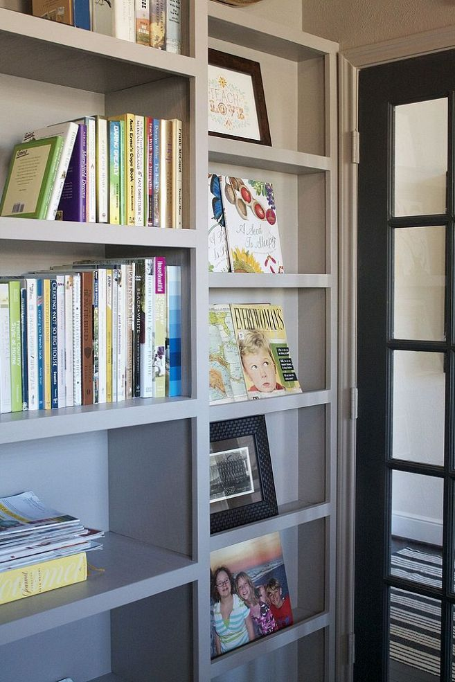 Building a Home Library like the small shelf for tight areas.