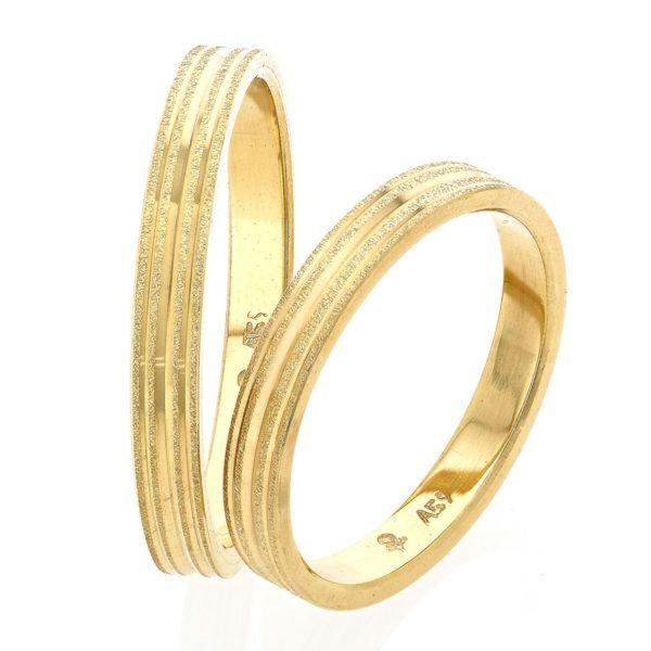 Βέρες γάμου Stergiadis  χρυσό Κ14