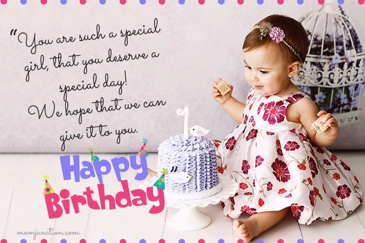 Pleasant 106 Wonderful 1St Birthday Wishes And Messages For Babies With Personalised Birthday Cards Bromeletsinfo