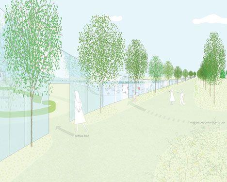 Park Groot Vijversburg by Junya Ishigami + Associates and MAKS    easy concept, great performance