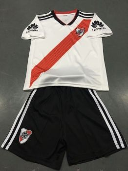 75daef2ad47 Kids/Youth River Plate 18/19 Wholesale Home Cheap Soccer Kit Sale [N280]
