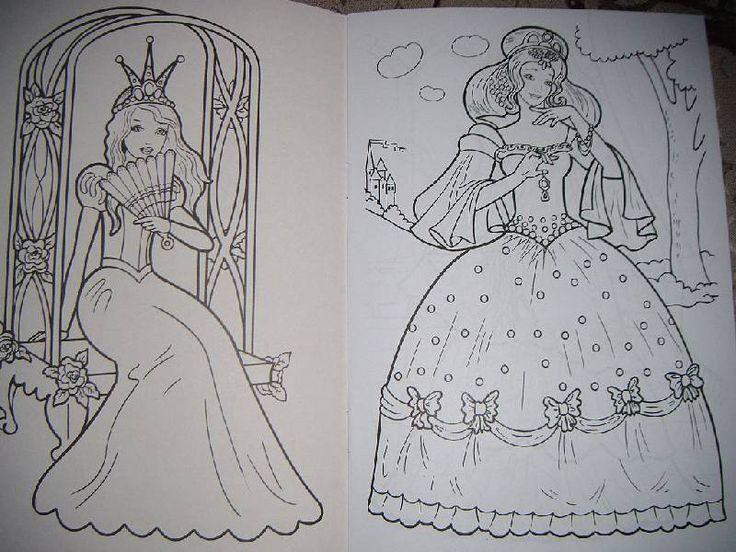 Иллюстрация 2 из 6 для Раскраска: Сказочные принцессы | Лабиринт - книги. Источник: Iwolga