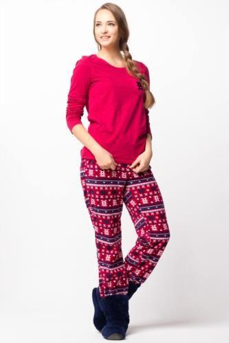 Ev Giyim - Desenli Pijama Takımı