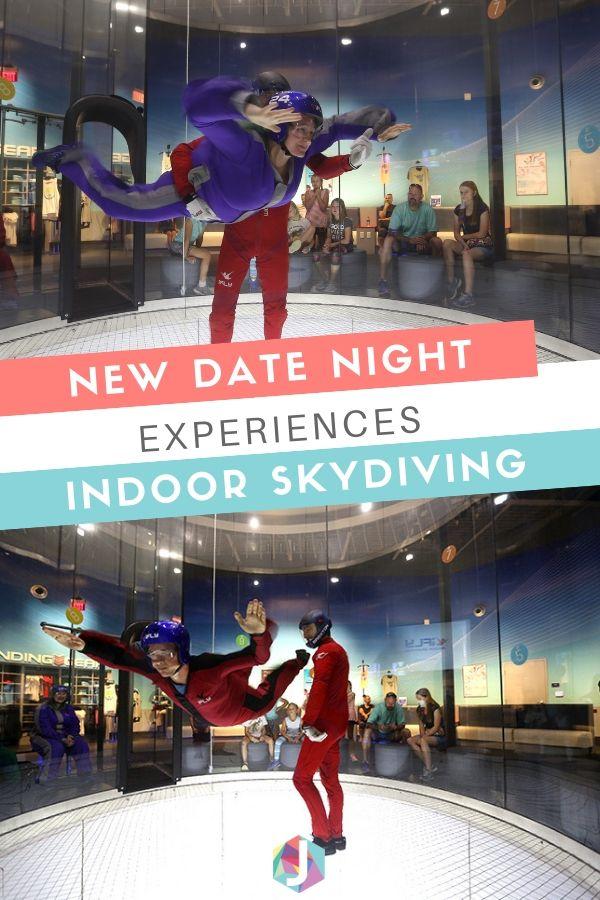 New Date Night Experiences - Indoor Skydiving   Atlanta