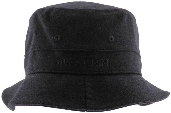 Stone Island Bucket Hat Navy