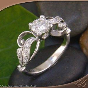 unique + brilliant ring.