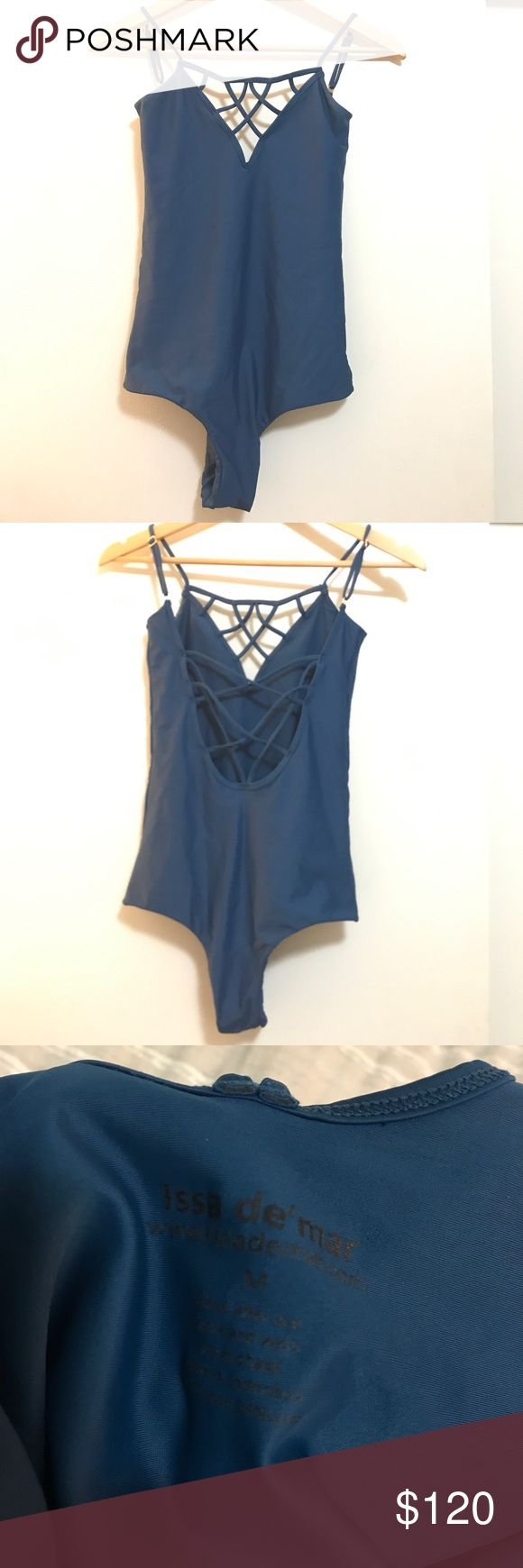 Issa De Mar Sao Paulo Issa de mar one piece suit, gorgeous blue color. Hard to find. Cheeky fit. Such a flattering cut. Worn once and hand washed. In excellent condition. Color most similar to last photo. Open to offers issa de mar Swim One Pieces