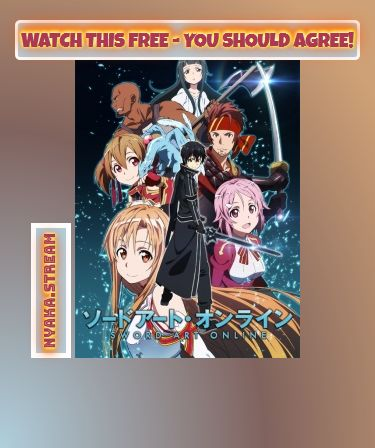 """Watch Sword Art Online (Dub) Anime Online for Free without any bothersome ads of any kind. Full Episodes are streamed as soon as you click """"play"""" - have a look for yourself!"""