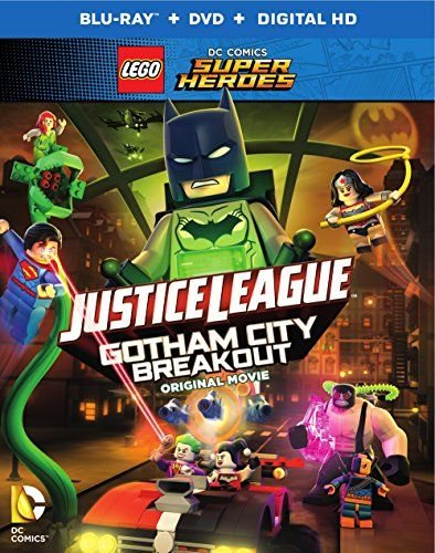 LEGO DC Comics Super Heroes: Justice League: Gotham City Breakout (Blu-ray+DVD+Digital HD UltraViolet Combo Pack) (No Figurine) Batman faces his greatest 35398276 chal ...(B01E9PF86W 35398276)