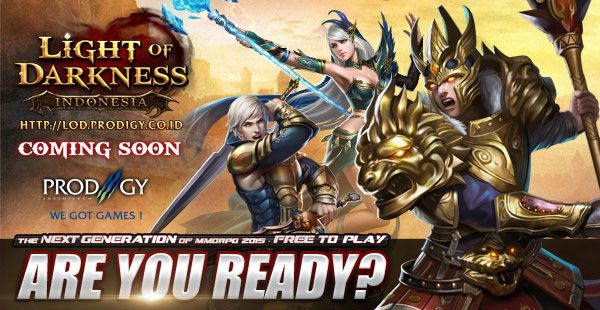 Light of Darkness Indonesia - The Next Gen MMORPG