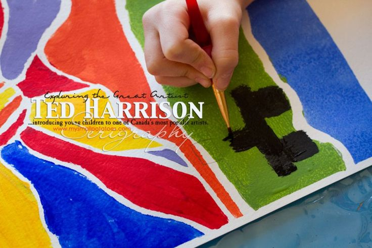 Studying the Great Artist Ted Harrison…Introducing Young Children to one of Canada's Most Famous Artists
