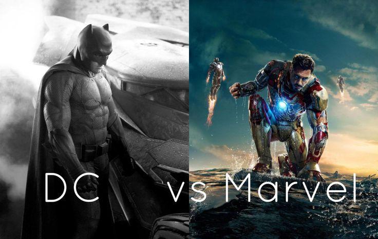 La Maldición de Batman - La Diferencia entre las películas de Marvel y DC