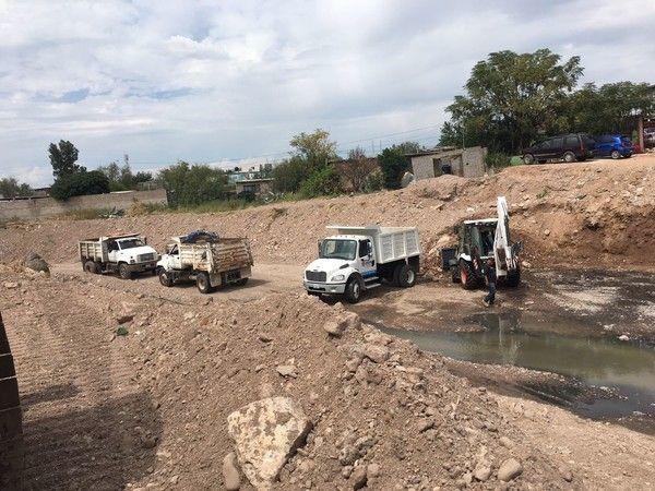 Retira Gobierno Municipal más de 11 mil toneladas de escombro y basura de 13 arroyos en zona norte   El Puntero