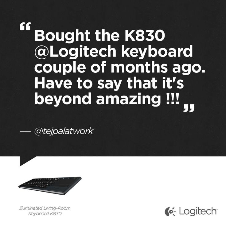 Have You Checked Out The Illuminated Living Room Keyboard K830