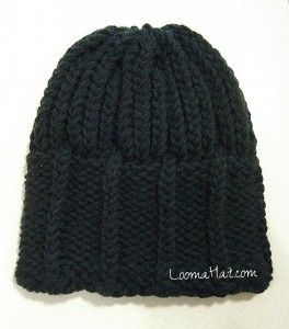 Mens Knit Hat - The Parthenon - Loom A Hat