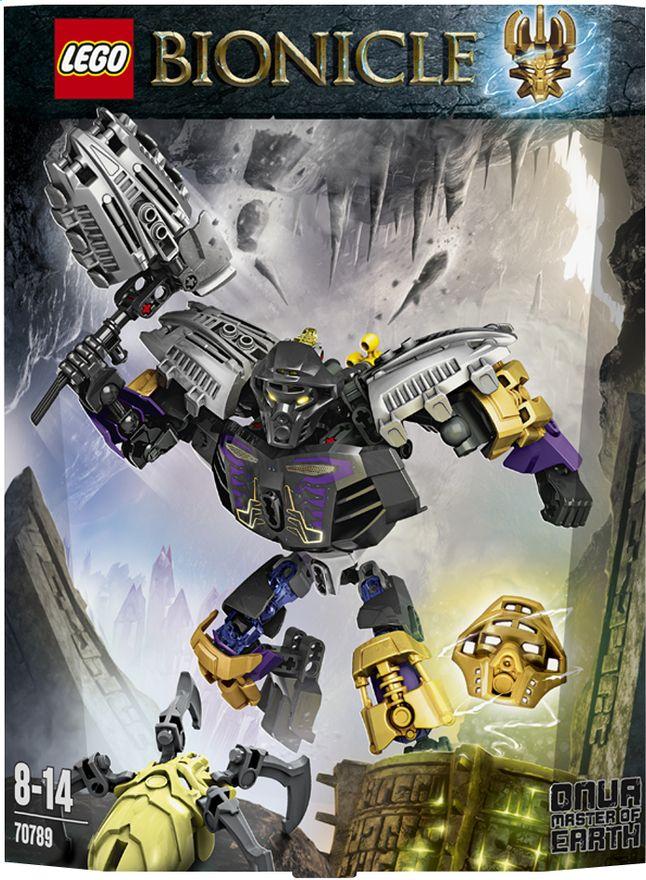 Bouw Onua (70789), de biomechanische Meester van de Aarde, na met deze LEGO Bionicle en versla je tegenstanders met je aardbevingen.