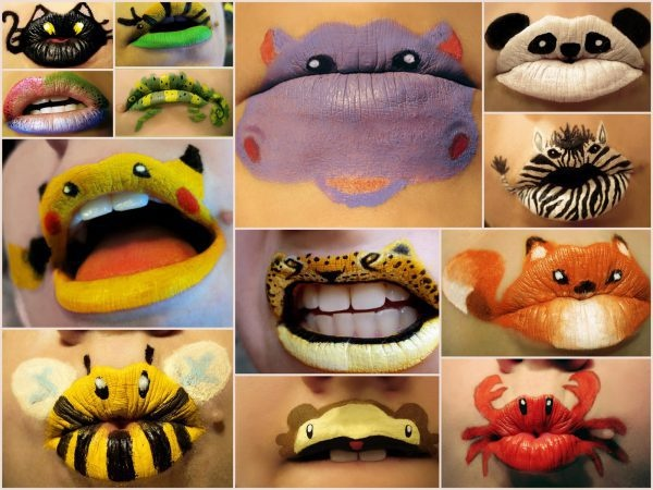 Crazy lipstick