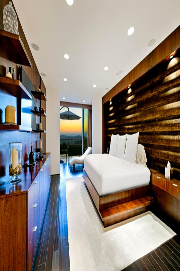 Cosy Bedroom Los Angeles Luxury Apartment For Rent Modern West Coast Sunsets Bed Interior Luxury Apartments Los Angeles Apartments Luxury Rentals