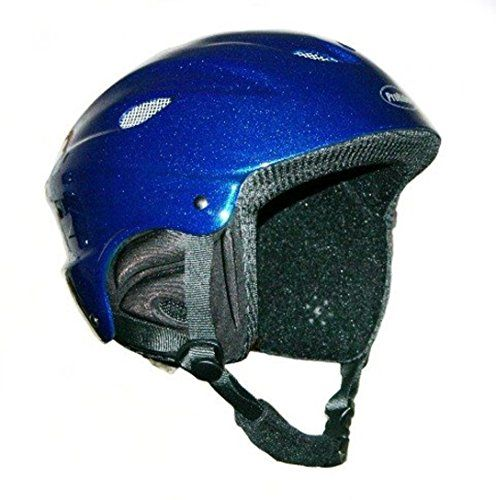 ProRider Snow Sports Helmet Blue Medium  Includes Bonus Number 1 in Service Logo Reflector Sticker * Click image for more details.