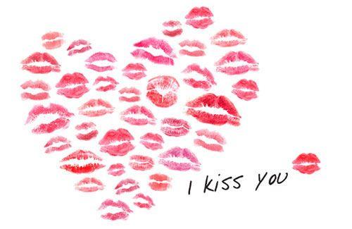 I kiss you