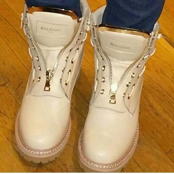 Balmain boots A couple sizes available Balmain Shoes Combat & Moto Boots