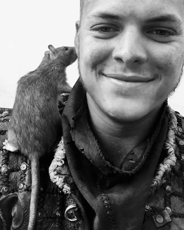 Ivar the Boneless and rat buddy