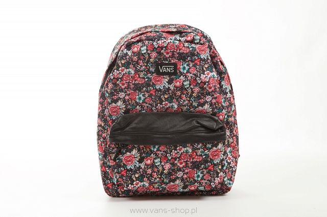 DEANA II BACKPACK - (Multi Floral) Black/True White