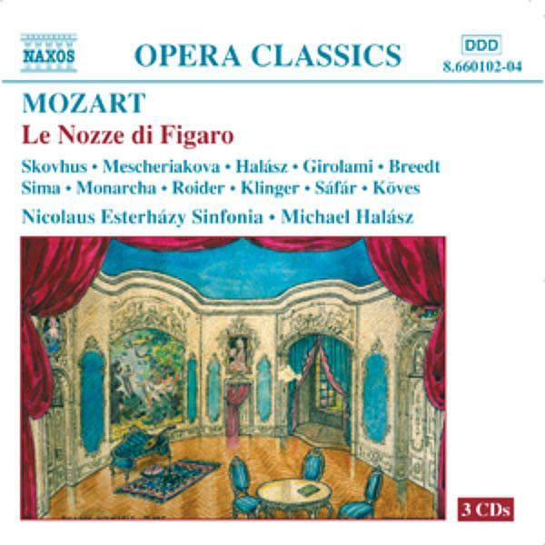 MOZART: Nozze di Figaro (Le) (The Marriage of Figaro) - Michelle Breedt - Naxos